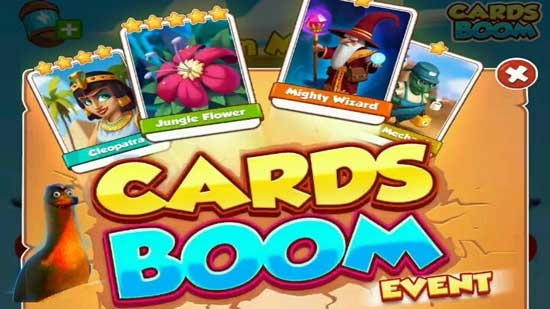 cards Boom Event