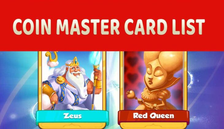 Coin Master all cards list