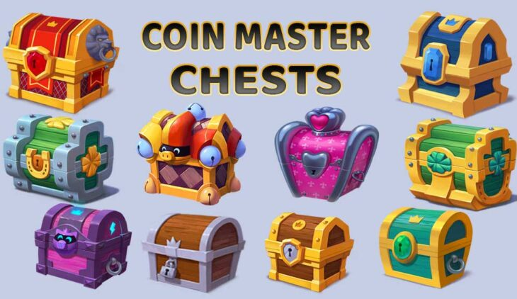 Coin Master Chest List And rewards