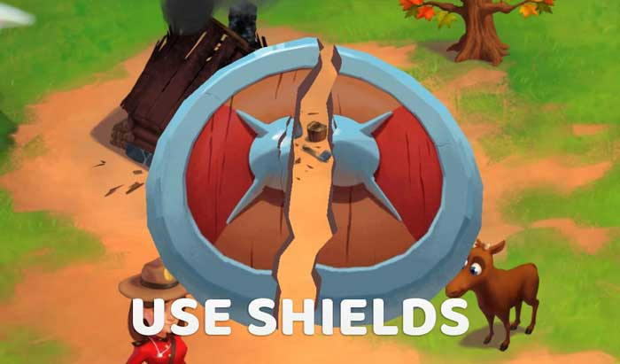 Coin Master Shield protection