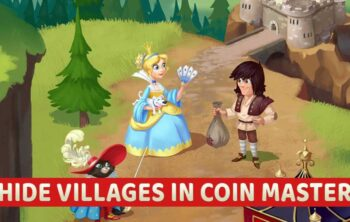 Hide villages in coin master